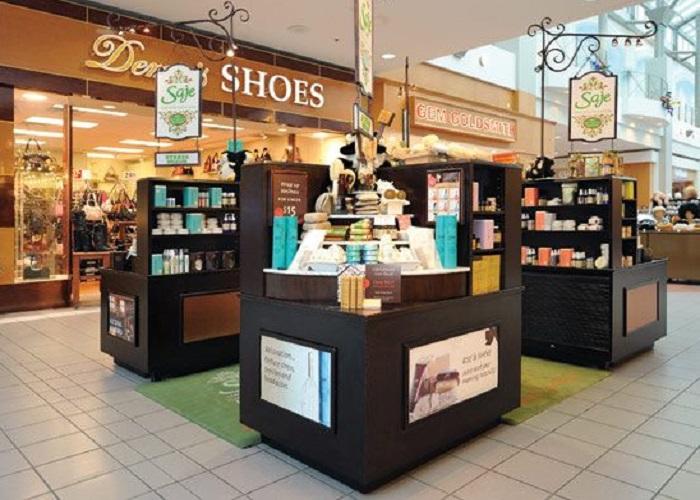 Торговый островок для магазина ароматерапии